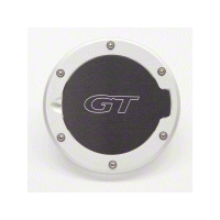 Billet Anodized Mustang Fuel Door with GT Logo (94-04)