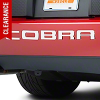 Stainless Steel Bumper Insert Letters (03-04 Cobra) - AM Exterior 13036
