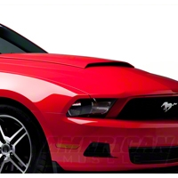 Hood Scoop - Unpainted (10-12 GT, V6) - AM Exterior ABSHS-03