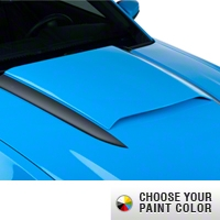Hood Scoop - Pre-painted (10-12 GT, V6) - AM Exterior ABSHS-03