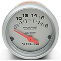 Auto Meter Pro-Comp Ultra-Lite Voltmeter Gauge - Electric (79-14 All) - Auto Meter 4391