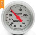 Auto Meter Pro-Comp Ultra-Lite Boost/Vac Gauge - Mechanical (79-14 All) - Auto Meter 4303
