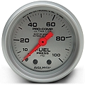Auto Meter Pro-Comp Ultra-Lite Fuel Pressure Gauge - Mechanical (79-14 All) - Auto Meter 4312