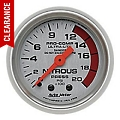 Auto Meter Pro-Comp Ultra-Lite Nitrous Pressure Gauge - Mechanical (79-14 All) - Auto Meter 4328
