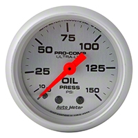 Auto Meter Pro-Comp Ultra-Lite Oil Pressure Gauge - Mechanical (79-14 All) - Auto Meter 4323
