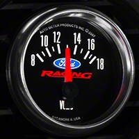 Ford Racing Voltmeter Gauge (79-14 All) - Ford Racing 880081