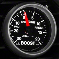 Auto Meter Sport Comp II Boost/Vac Gauge - 20psi Mechanical (79-14 All) - Auto Meter 3607