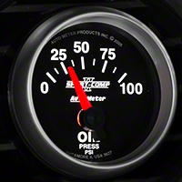 Auto Meter Sport Comp II Oil Pressure Gauge - Electric (79-14 All) - Auto Meter 3627