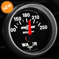 Auto Meter Sport Comp II Water Temp Gauge - Electric (79-14 All) - Auto Meter 3637
