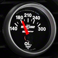 Auto Meter Sport Comp II Oil Temp Gauge - Electric (79-14 All) - Auto Meter 3648