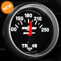 Auto Meter Sport Comp II Transmission Temp Gauge - Electric (79-14 All) - Auto Meter 3649