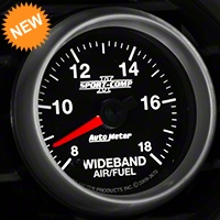 Auto Meter Sport Comp II Wideband Air/Fuel Ratio Gauge - Analog (79-14 All) - Auto Meter 3670
