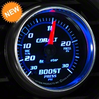 Auto Meter Cobalt Boost/Vac Gauge - 30 psi Mechanical (79-14 All) - Auto Meter 6103