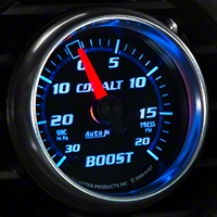 Auto Meter Cobalt Boost/Vac Gauge - 20 psi Mechanical (79-14 All) - Auto Meter 6107
