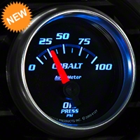 Auto Meter Cobalt Oil Pressure Gauge - Electric (79-14 All) - Auto Meter 6127
