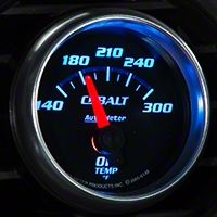 Auto Meter Cobalt Oil Temp Gauge - Electric (79-14 All) - Auto Meter 6148