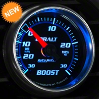 Auto Meter Cobalt Boost/Vac Gauge - 30psi Electric (79-14 All) - Auto Meter 6159