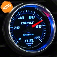 Auto Meter Cobalt Fuel Pressure Gauge - Electric (79-14 All) - Auto Meter 6163