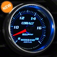 Auto Meter Cobalt Wideband Air/Fuel Ratio Gauge - Analog (79-14 All) - Auto Meter 6171