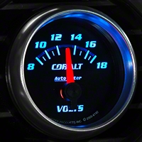 Auto Meter Cobalt Voltmeter Gauge - Electric (79-14 All) - Auto Meter 6192