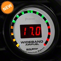 Auto Meter Phantom Wideband Air/Fuel Ratio Gauge - Digital (79-14 All) - Auto Meter 5779