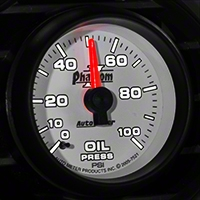 Auto Meter Phantom II Oil Pressure Gauge - Mechanical (79-14 All) - Auto Meter 7521