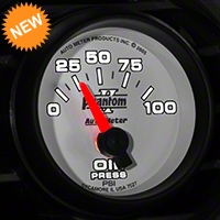 Auto Meter Phantom II Oil Pressure Gauge - Electric (79-14 All) - Auto Meter 7527