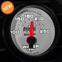 Auto Meter Phantom II Water Temp Gauge - Electric (79-14 All) - Auto Meter 7537