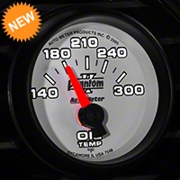 Auto Meter Phantom II Oil Temp Gauge - Electric (79-14 All) - Auto Meter 7548