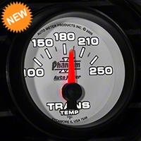 Auto Meter Phantom II Transmission Temp Gauge - Electric (79-14 All) - Auto Meter 7549