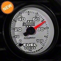 Auto Meter Phantom II Fuel Pressure Gauge - Electric (79-14 All) - Auto Meter 7563