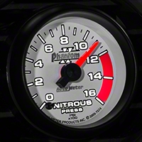 Auto Meter Phantom II Nitrous Pressure Gauge - Electric (79-14 All) - Auto Meter 7574