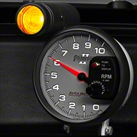 Auto Meter Phantom II 5 in. Tachometer w/ Shift Light (79-14 All) - Auto Meter 7599