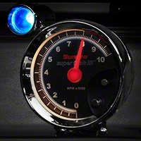 Sunpro Super Tach III 5 in. Tach w/ Shift Light (79-14 All) - Sunpro CP7905