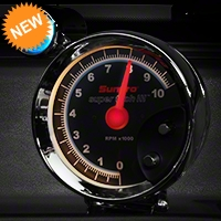 Sunpro Super Tach III 5in Tach w/ Shift Light (79-14 All) - Sunpro CP7905