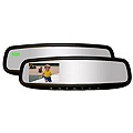 Auto-Dimming Mirror w/ Rear Display Monitor, Homelink and Compass (79-14 All) - AM Exterior 50-GENK3345