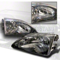 Mustang Headlights with Black housing (94-98)