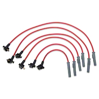 MSD Super Conductor 8.5mm Spark Plug Wires - Red (94-98 V6) - MSD 32289
