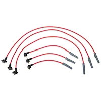 MSD Super Conductor 8.5mm Spark Plug Wires - Red (99-00 V6) - MSD 32999