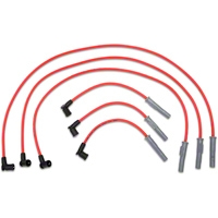 MSD Super Conductor 8.5mm Spark Plug Wires - Red (01-04 V6) - MSD 32889