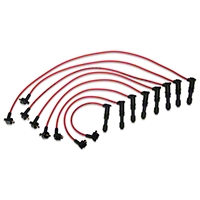 MSD Super Conductor 8.5mm Spark Plug Wires - Red (96-98 GT) - MSD 32229