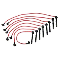 MSD Super Conductor 8.5mm Spark Plug Wires - Red (96-98 Cobra) - MSD 32219