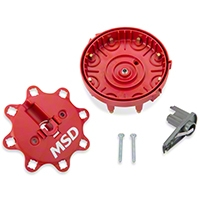 MSD Replacement Cap & Rotor (86-95 5.0L) - MSD 8482