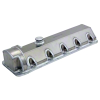 Moroso Fabricated Aluminum Valve Covers - 11 Bolt (96-04 GT) - Moroso 68389