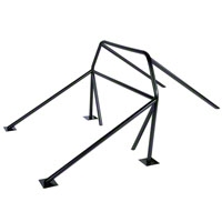 Competition Engineering Complete 8-Point Roll Bar - Coupe/Hatchback (79-93 All) - Competition Engineering C3000||C3025