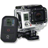 GoPro Hero3 Black Edition - GoPro CHDHX-301