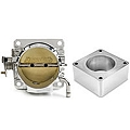 Accufab 75mm Throttle Body w/ EGR Delete Spacer (86-93 5.0L) - Accufab F75KS