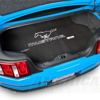 Fender Gripper Trunk Mat - Running Pony - Convertible (05-13 GT, V6; 07-12 GT500)