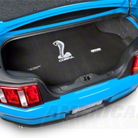 Trunk Mat w/ Cobra - Convertible (05-13 All) - AM Exterior TM05-08MUCVCS
