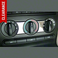 Modern Billet Chrome A/C Accent Trim (05-09 All) - Modern Billet BIL-05-ACT-CH